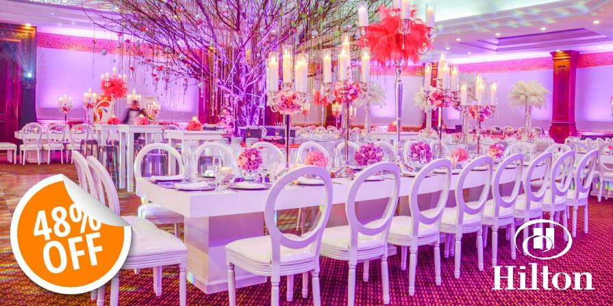 PAQUETE PARA EVENTOS EN HOTEL HILTON GUATEMALA CITY